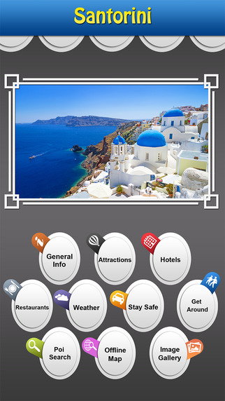 Santorini Island Offline Travel Guide