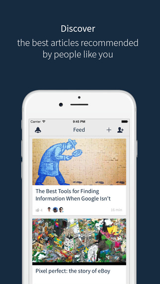 ReadingPack - Social Reading List for iPhone