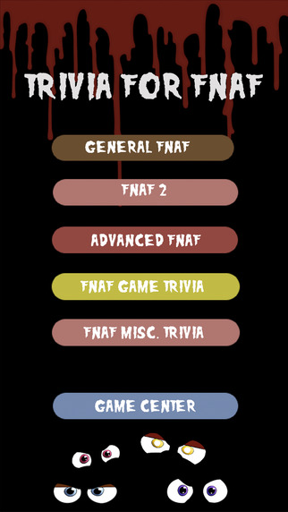 Trivia Game For Five Nights At Freddy's - FNAF Edition