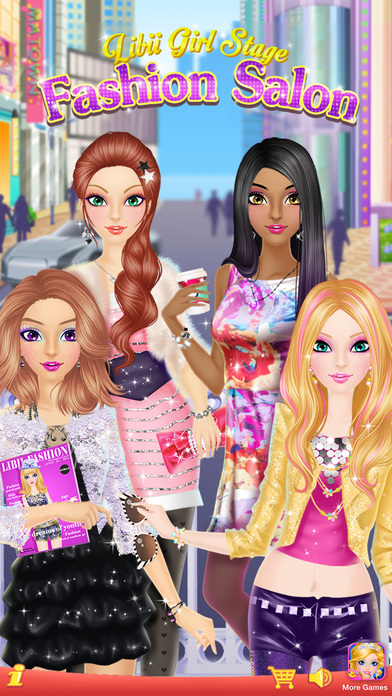 Fashion Salon Girls Makeup Dressup And Makeover Games