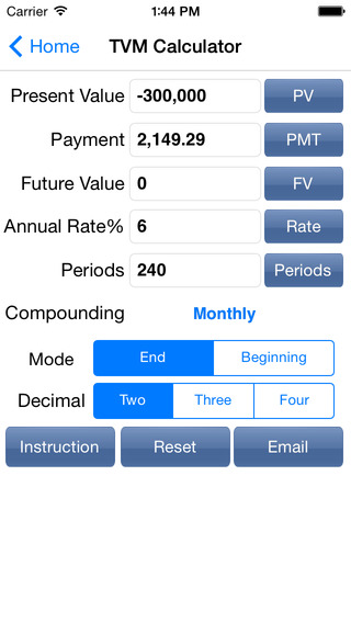 EZ Financial Calculators on the App Store on iTunes