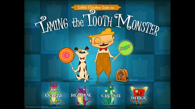 Little Chester Dale in Taming the Tooth Monster