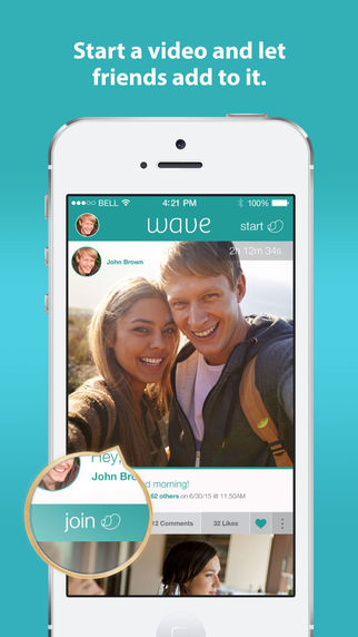 Wave - Instantly create video stories with friends