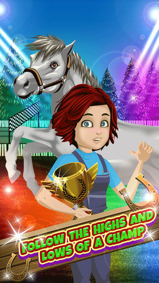 My Teen Life Horse World Story - Stable Chat Social Episode Game