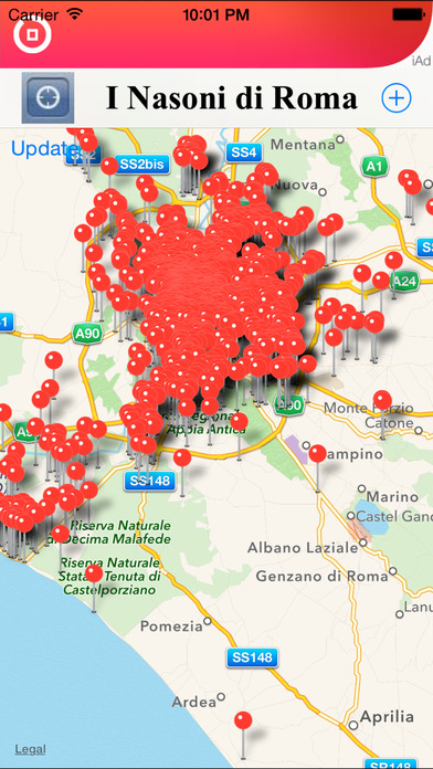 I Nasoni di Roma - Water Finder in Rome iPhone Screenshot 2