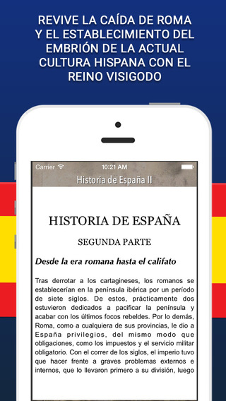 Audiolibro: Historia de España II desde la era romana hasta el califato