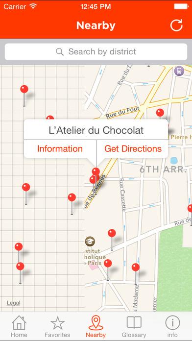 Paris Pastry Guide screenshot 5