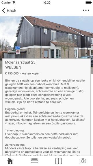 Hermans Makelaardij app