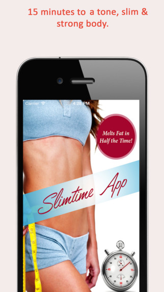 Fit Girl Slim Time 15 minute workouts : Fitness Trainer Workouts to melt fat in 1 2 the time