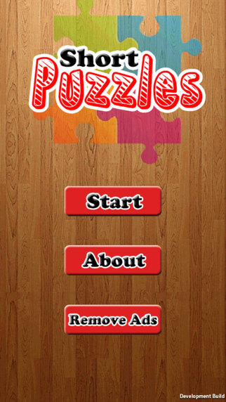 Short Puzzles - it's a fun game jigsaw puzzle for children of all ages