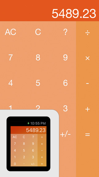 Kalku - Calculator for Apple Watch