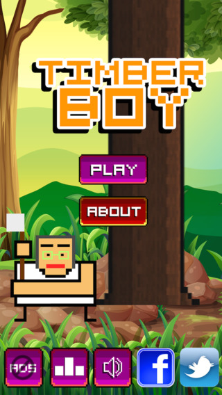 Timber UFO Boy - Cut the tree in seconds! A Free Game by Top Best Games