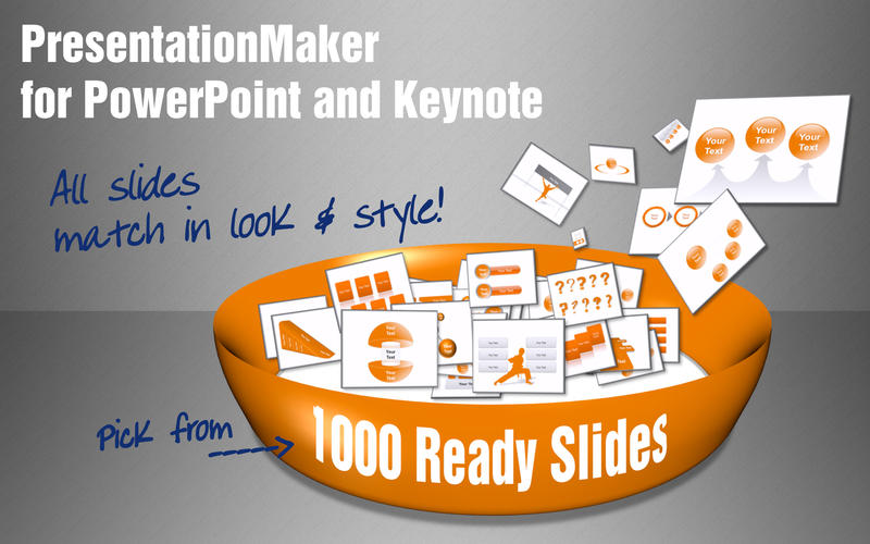 PresentationMaker for PowerPoint and Keynote Screenshot - 1