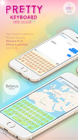 PrettyKeyboard ThemesExclusive Belarusian language