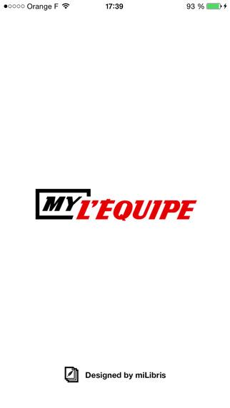MyL'Équipe - Votre journal mais en numérique