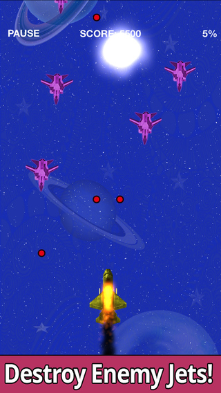 Sky Protector: Kill enemy jets and save your Universe