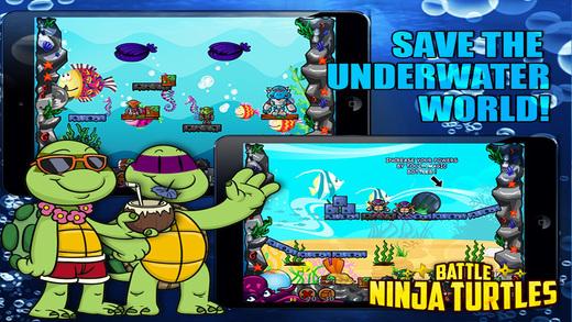 Battle Ninja Free - The Underwater Mutants Warriors Battle