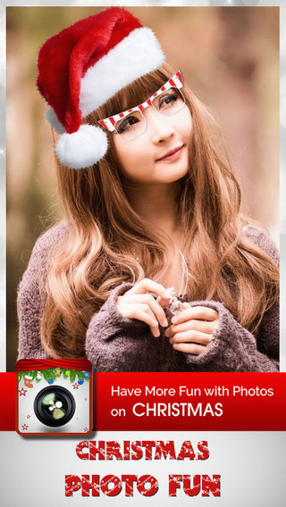 Christmas Photo Fun Free - Frames Filters and Stickers for Christmas