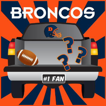 Tailgate Trivia Broncos Edition LOGO-APP點子