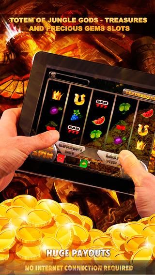 Totem of Jungle Gods Treasures And Precious Gems Slots - FREE Slot Game