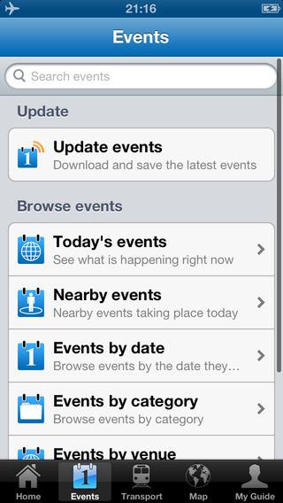 London Travel Guide Offline iPhone Screenshot 5