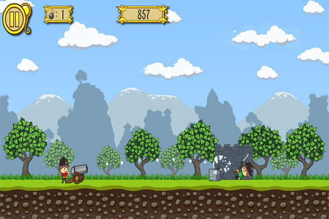 Cannons Soldiers Kids Game screenshot 1