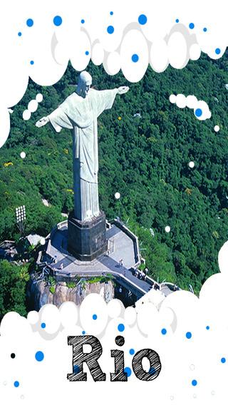 Rio de Janeiro Travel Guide - Offline Maps