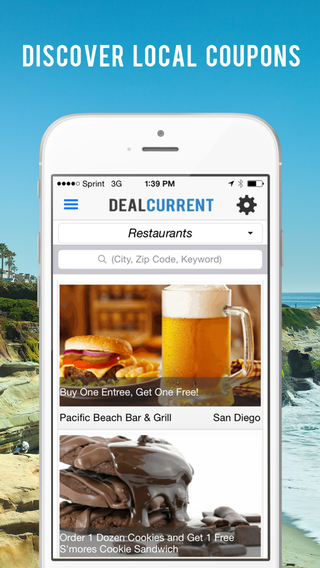 Deal Current - San Diego's Best Local Deals Coupons