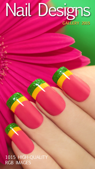 Nail Designs 2015: French Manicures Seasonal Colour Blends Wedding Abstract Coloured Acrylic Paint a