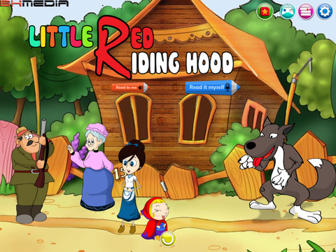 Little Red Riding Hood HD - amazing interactive story and games for kids learning made fun