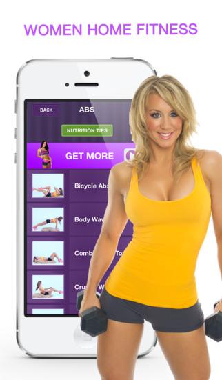 Women Home Fitness – Ежедневные Упражнения Тела Скриншоты7