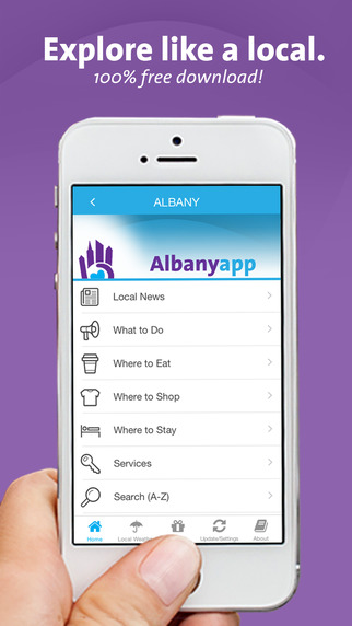 Albany NY App - Local Business and Travel Guide