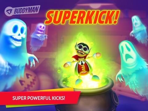 【免費遊戲App】Buddyman: Halloween Kick 2 HD-APP點子