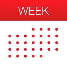 Week Calendar - iOS Store App Ranking and App Store Stats