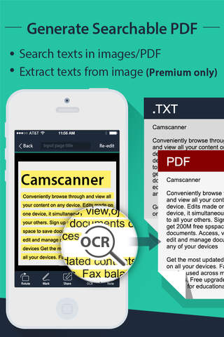 CamScanner +| PDF Document Scanner and OCR screenshot 3