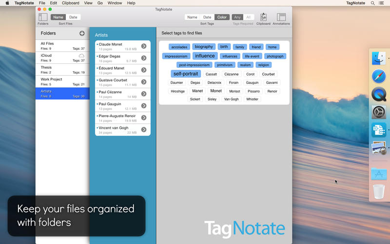 TagNotate Screenshots