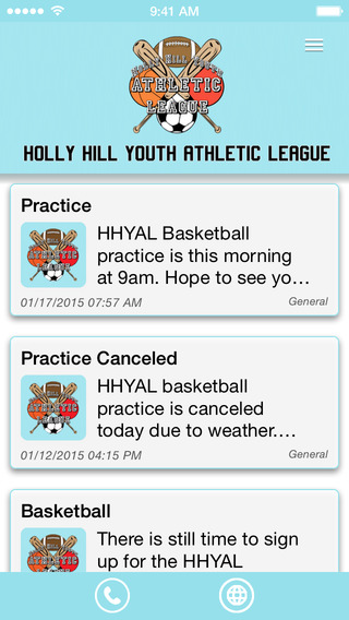 Holly Hill Youth Athletic League