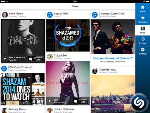 Shazam – Discover music, artists, videos & lyrics
