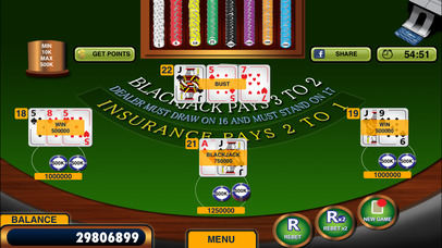 Blackjack 21 + Free Casino-style Blackjack game screenshot