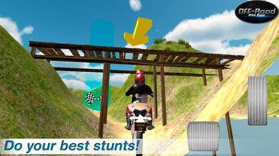 Offroad Bike Stunts 3D Full screenshot 2