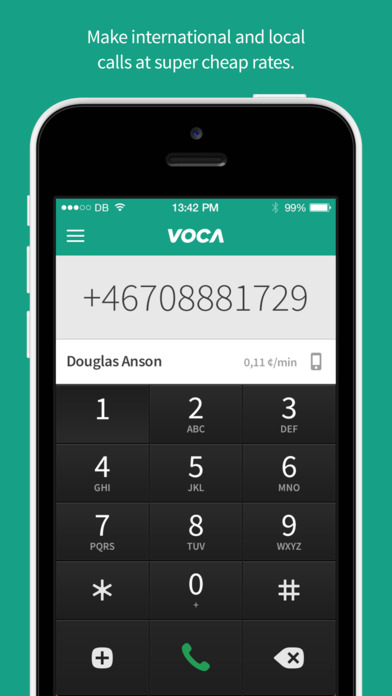 Voca - Cheap Calls & Messaging screenshot