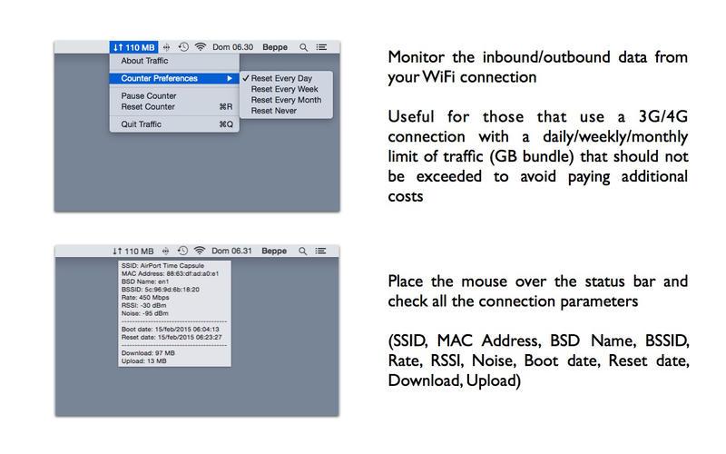 Traffic - 流量查看工具[OS X]丨反斗限免
