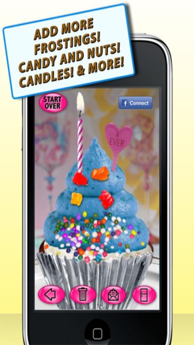 Cupcake Maker - Free iPhone Screenshot 4