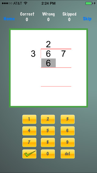 Long Division Drills on the App Store