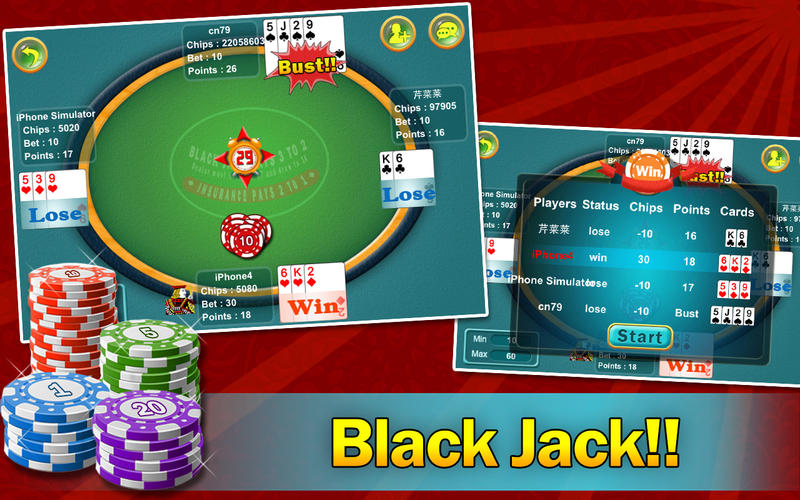 Screenshot #2 for BlackJack - Daily 21 Points