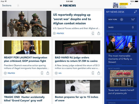 Screenshot 1 Fox News