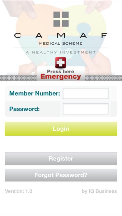 CAMAF Medical Member Application