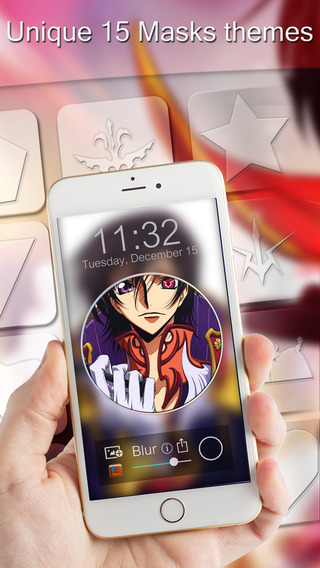 BlurLock – Manga Anime : Blur Lock Screen Code Geass Photo Maker Wallpapers For Pro