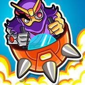 复古像素 – 跳跃机器人 SlamBots [iOS]