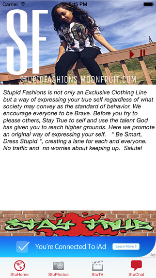 True Story-Presented By Stupid Fashions